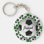 Personalized Soccer ball Key Chain