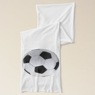 Personalized Soccer Ball Name and Number Scarf