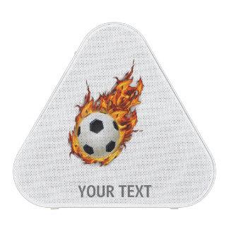 Personalized Soccer Ball on Fire Speaker