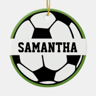 Personalized Soccer Ball Ornament
