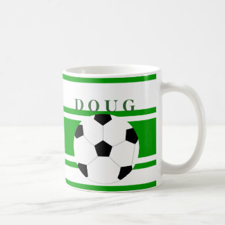 Personalized Soccer Coffee Mugs