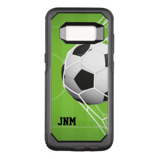 Personalized Soccer GOAL OtterBox Commuter Samsung Galaxy S8 Case