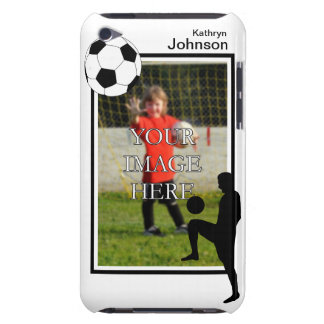 Personalized Soccer iPod Touch Case