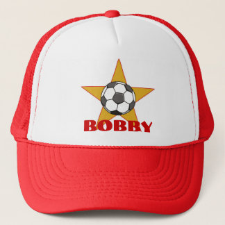 Personalized Soccer Star Hat
