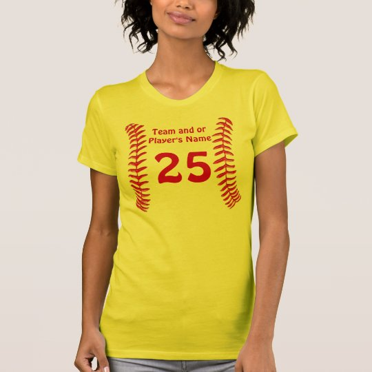 Personalized Softball Jersey Shirts for Girls