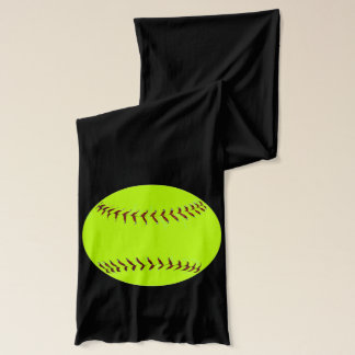 Personalized Softball Name and Number Scarf
