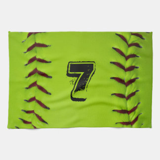 Personalized Softball Towel