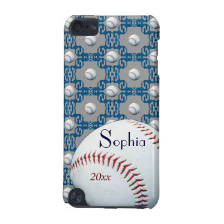Personalized Sophie Baseball Motif Ipod Touch Case