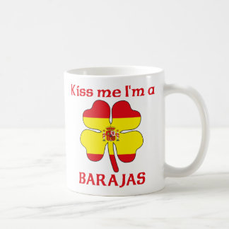 Personalized Spanish Kiss Me I'm Barajas Coffee Mug