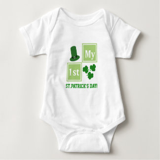 Personalized St.Patrick's Day Baby Jersey Bodysuit