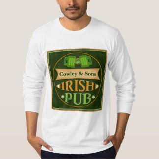 Personalized St. Patrick's Day Irish Pub T-Shirt
