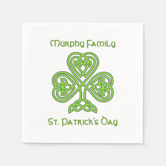 Personalized St. Patrick's Day Napkin