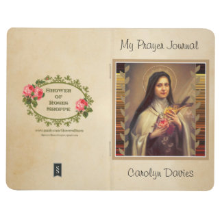 Personalized St. Therese the Little Flower Journal