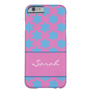 Personalized Star of David Jewish iPhone 6 case