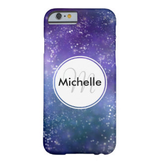 Personalized Starry Night Sky Barely There iPhone 6 Case