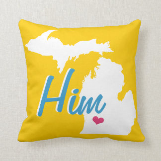 Personalized State Groom's Any Colour Pillow