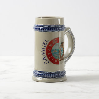 Personalized Stein Best Boyfriend with Cat