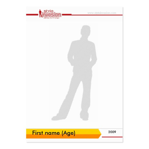 Personalized style trading card #2 business card template | Zazzle
