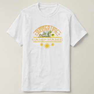 Personalized Summer Camp T-Shirt