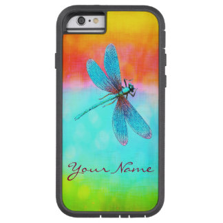 Personalized Summer Dragonfly Tough Xtreme iPhone 6 Case