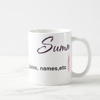 Personalized Summer Gifts Basic White Mug