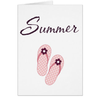 Personalized Summer Gifts Greeting Card
