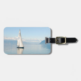 Personalized Summer Sailboat Luggage Tag