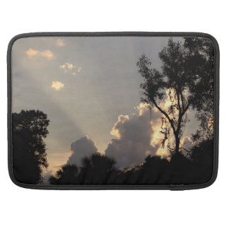 Personalized Sun Rays at Sunset Sleeve For MacBook Pro