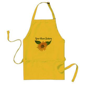 Personalized Sunflower Standard Apron