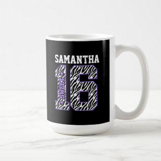 Personalized Sweet Sixteen Mug