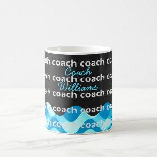 Personalized Swim Coach or Dive Coach Coffee Mug