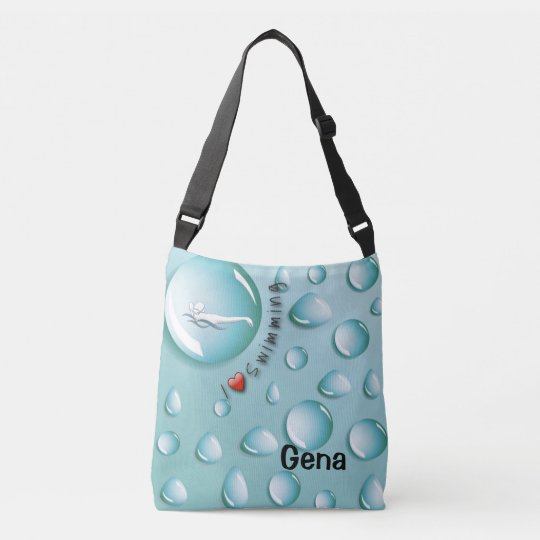 Personalized Swimmer's Body Totes
