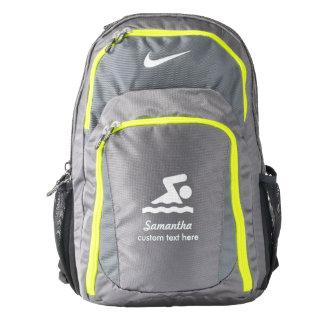 Personalized Swimming Club, Swimmer Name Custom Backpack