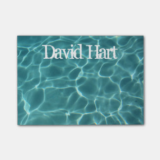 Personalized Swimming Pool Post-it Notes