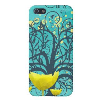 Personalized Swirl Tree Damask iPhone Case iPhone 5 Case