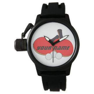 Personalized Table Tennis Ping Pong Watch