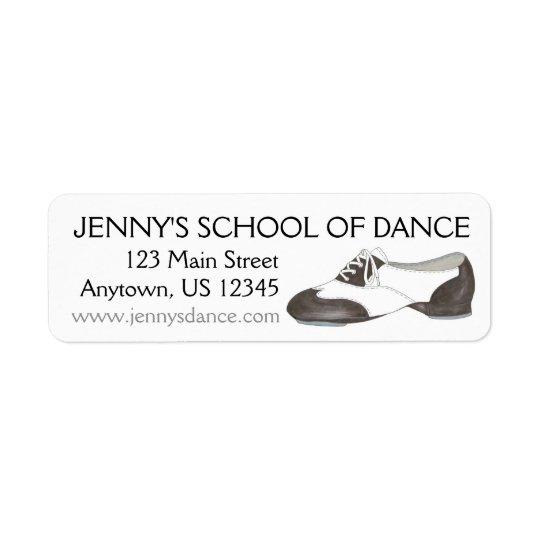 Personalized Tap Shoe Dance Studio School Dancer
