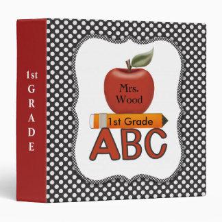 Personalized Teacher ABC Binder