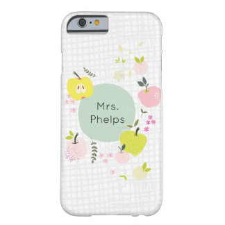 Personalized Teacher Apple School Phone Case