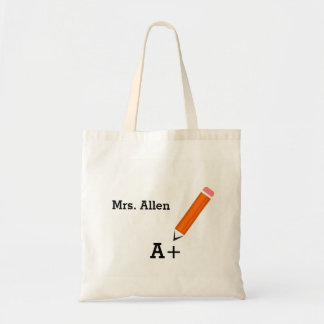 Personalized Teacher Bags
