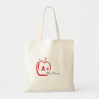 Personalized Teacher Gifts Tote Bag