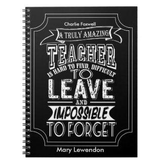 personalized Teacher Notebook