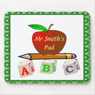 Personalized Teacher's ABC's Mouse Pad