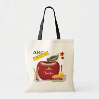 Personalized Teacher's Bag