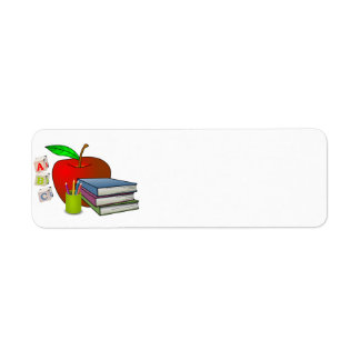 Personalized Teacher's Books & Apple