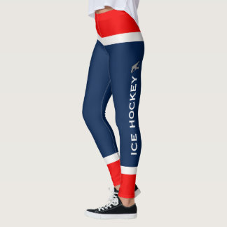 Personalized Team Colours Ice Hockey Socks Leggings