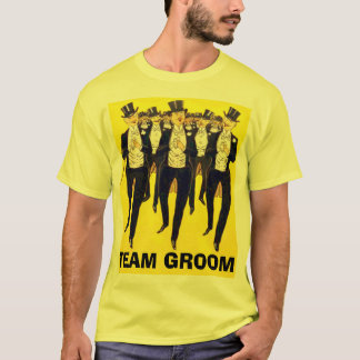 Personalized team groom boy's night out T-Shirt