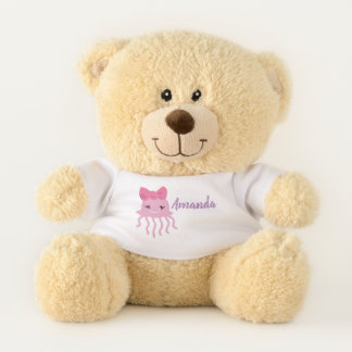 Personalized teddy bear under the sea