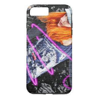 Personalized Teenager Fun Cool Skateboard Grunge iPhone 8 Plus/7 Plus Case