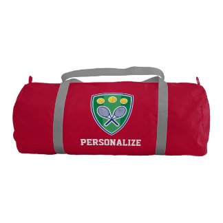 Personalized tennis bag for player or sports coach